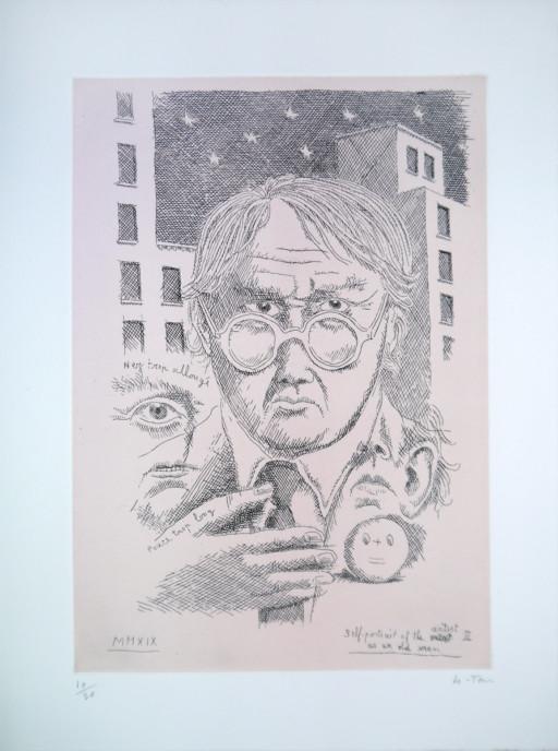 Self Portrait of an Artist as an Old Man III