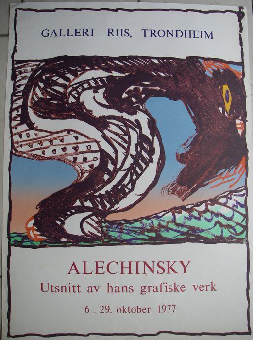 Trondheim, affiche lithographiée