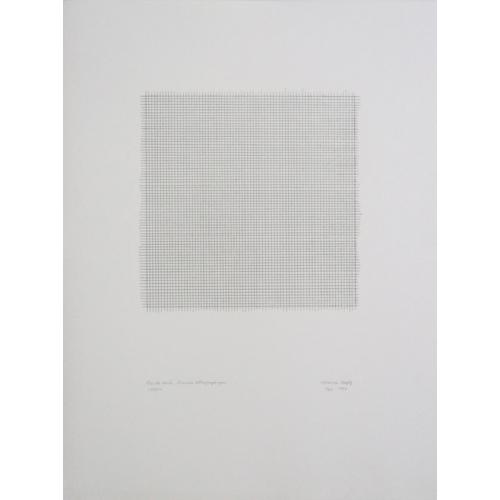 Pointe acier, Gravure lithographique, Noir