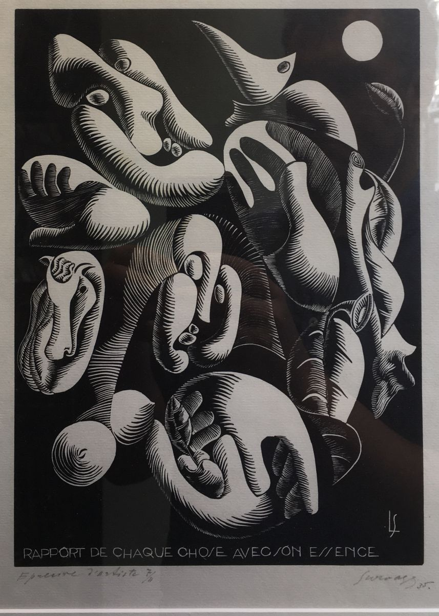 Rapport de chaque chose à son essence, 1935