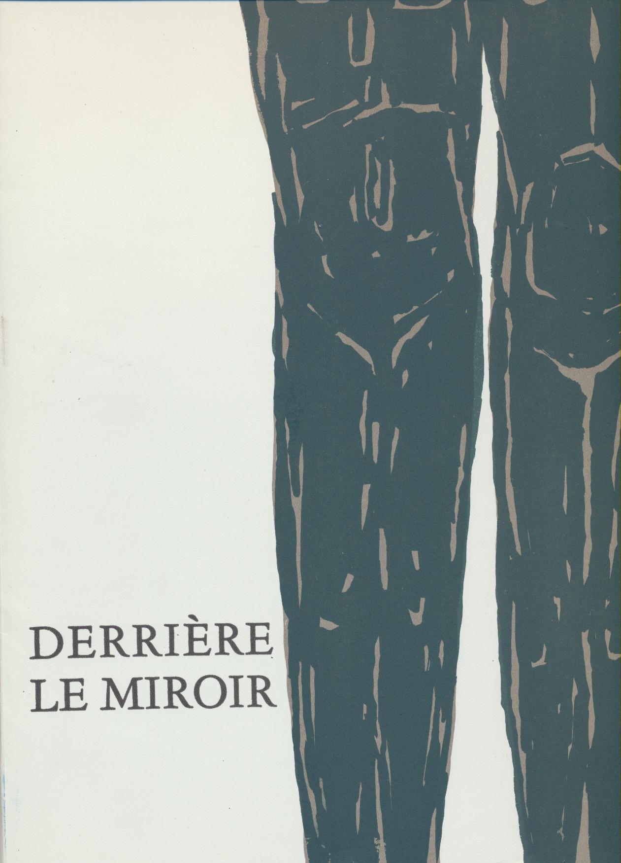 Derri re le miroir ubac n 161 yves bonnefoy maeght gravure for Maeght derriere le miroir