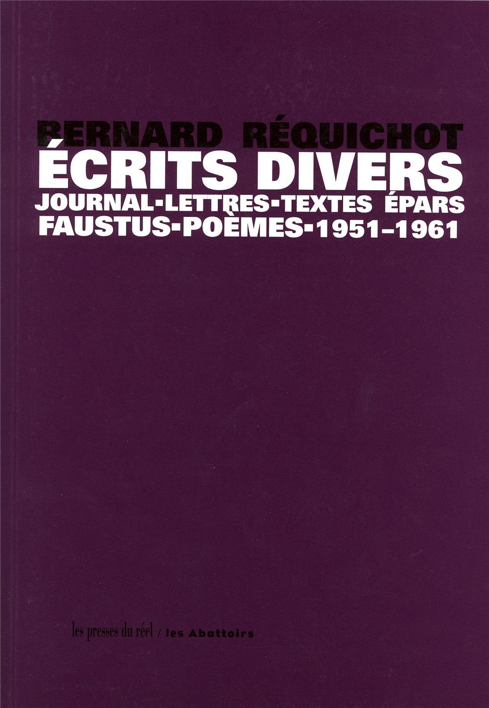 Afbeeldingsresultaat voor Réquichot Ecrit divers