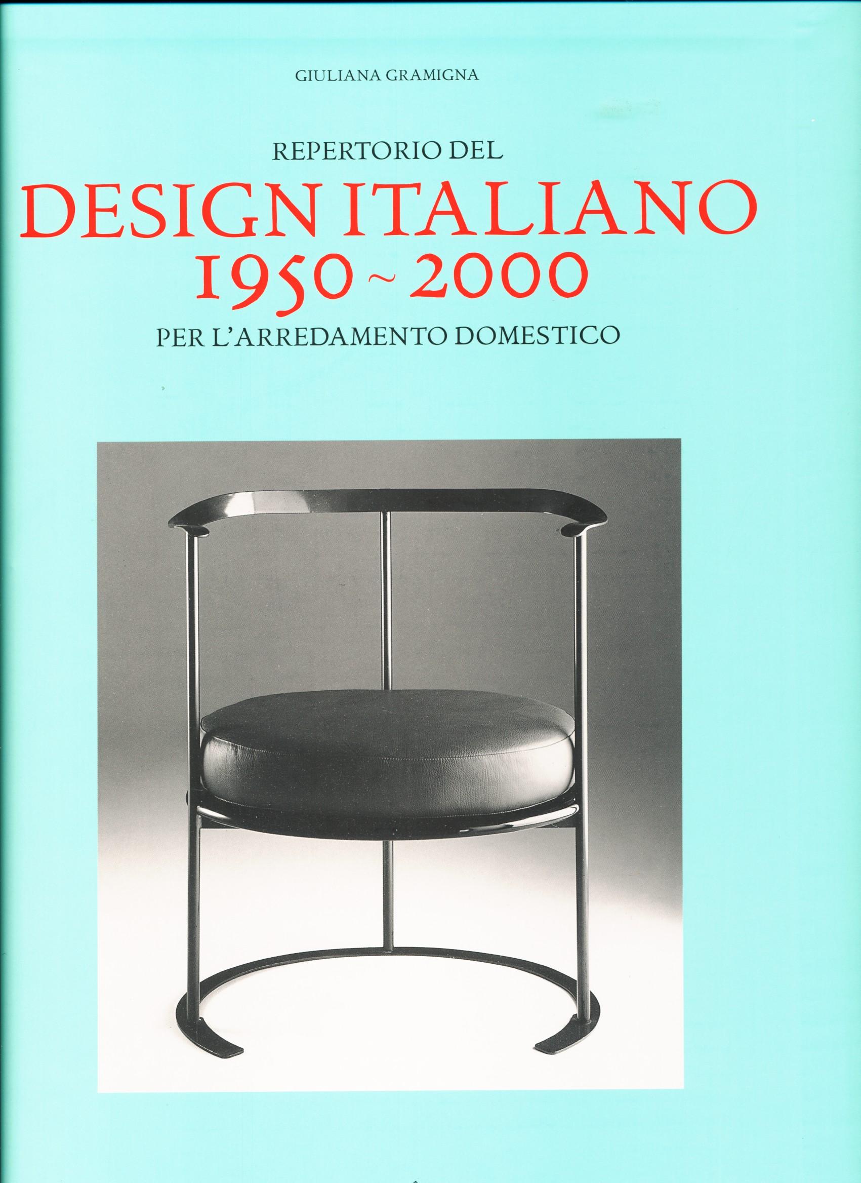 Repertorio del design italiano per l arredamento domestico for Arredamento design italiano
