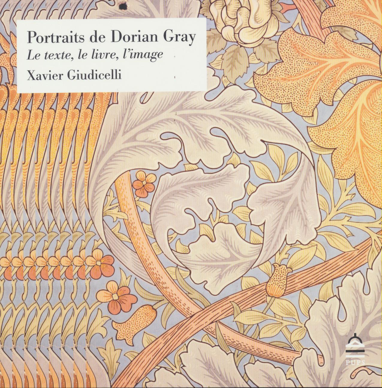Portraits De Dorian Gray Le Texte Le Livre L Image Xavier
