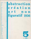 ABSTRACTION CRÉATION ART NON FIGURATIF 1936