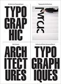 ARCHITECTURES TYPOGRAPHIQUES - ILLUSTRATIONS, COULEUR