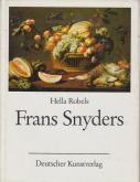 FRANS SNYDERS, STILLEBEN- UND TIERMALER.