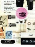 THE THONET BRAND - A LOOK AT ITS GRAPHIC DESIGN HISTORY - DIE MARKE THONET - EIN BLICK AUF IHRE GRAF