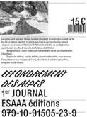 EFFONDREMENT DES ALPES. PREMIER JOURNAL