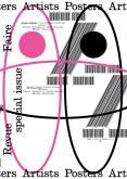 REVUE FAIRE.  REGARDER LE GRAPHISME N°22. ARTISTS POSTERS / AFFICHES D\