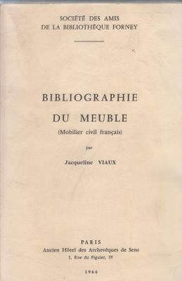bibliographie-du-meuble-mobilier-civil-franÇais-volume-1-et-supplEment-