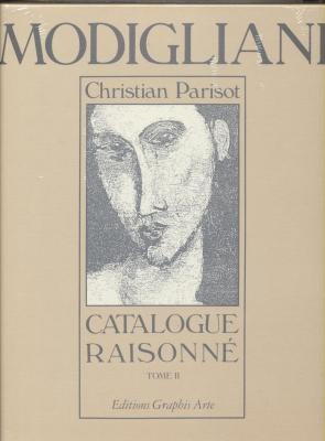 modigliani-catalogue-raisonne-peintures-dessins-aquarelles-tome-ii-
