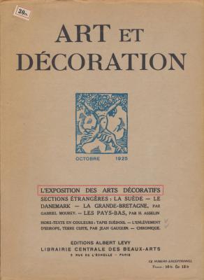 art-et-decoration-revue-mensuelle-d-art-moderne-annee-1925-octobre