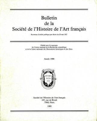 bulletin-de-la-societe-de-l-histoire-de-l-art-francais-annee-1988-