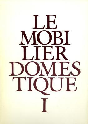 le-mobilier-domestique-vocabulaire-typologique-edition-de-1987