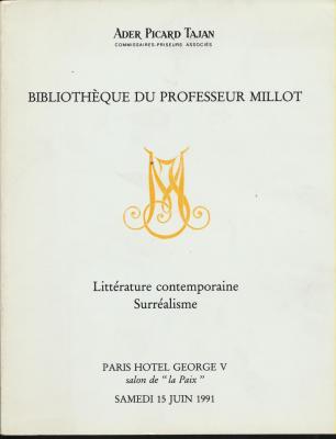 bibliotheque-du-professeur-millot-litterature-contemporaine-surrealisme-vente-15-juin-1991