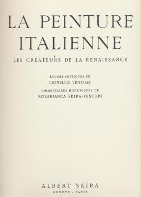 la-peinture-italienne