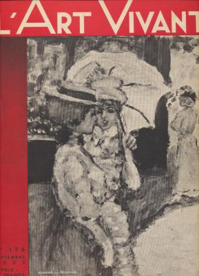 l-art-vivant-n°-176-septembre-1933-