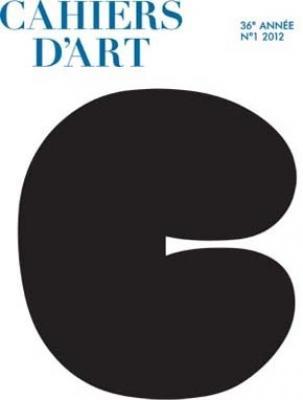cahiers-d-art-numero-1-2012-36e-annee
