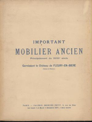 important-mobilier-ancien-principalement-du-xviii°-siecle-garnissant-le-chateau-de-fleury-en-biere