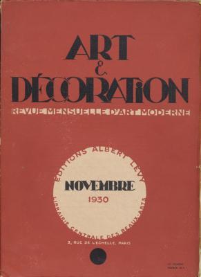 art-et-decoration-revue-mensuelle-d-art-moderne-annee-1930-novembre