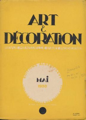 art-et-decoration-revue-mensuelle-d-art-moderne-annee-1930-mai