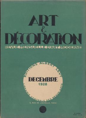 art-et-decoration-revue-mensuelle-d-art-moderne-annee-1928-annee-complete-tome-liii-et-tome-liv