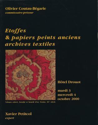 etoffes-papiers-peints-anciens-archives-textiles-hotel-drouot-octobre-2000