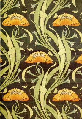 art-nouveau-textil-dekor-um-1900