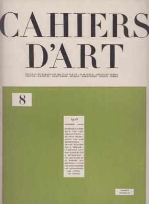 cahiers-d-art-1928-numEro-8