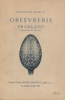 collection-de-mlle-p-orfEvrerie-franÇaise-principalement-du-xviiiEme-hotel-drouot-1930