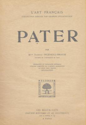 pater-biographie-et-catalogue-critique-oeuvre-complEte-de-l-artiste-