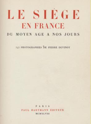 le-siEge-en-france-du-moyen-age-À-nos-jours