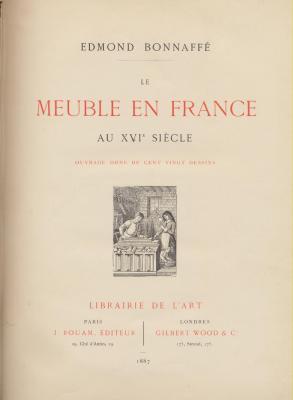 le-meuble-en-france-au-xviEme-siEcle