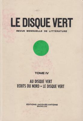 le-disque-vert-revue-mensuelle-de-littErature-tome-iv-