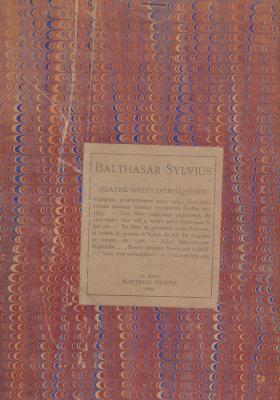 balthasar-sylvius-quatre-suites-d-ornements