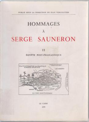 hommages-À-serge-sauneron-tome-2-Egypte-post-pharaonique-