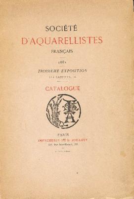 sociEtE-d-aquarellistes-franÇais-1881-catalogue-de-la-troisiEme-exposition-
