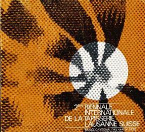 catalogue-de-la-deuxiEme-biennale-de-la-tapisserie-de-lausanne-1965-