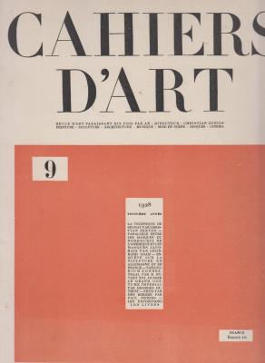 cahiers-d-art-9-1928-troisiEme-annEe