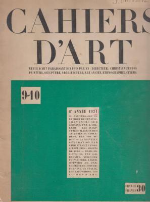 cahiers-d-art-9-10-annEe-1931-
