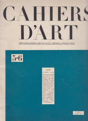 cahiers-d-art-5-6-1928-troisiEme-annEe-