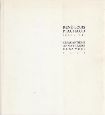 renE-louis-piachaud-1896-1941-cinquantiEme-anniversaire-de-sa-mort-1991-