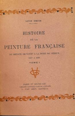 histoire-de-la-peinture-franÇaise-5-volumes-
