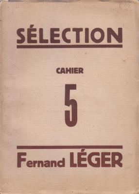 sElection-chronique-de-la-vie-artistique-cahier-5-fernand-lEger-1929