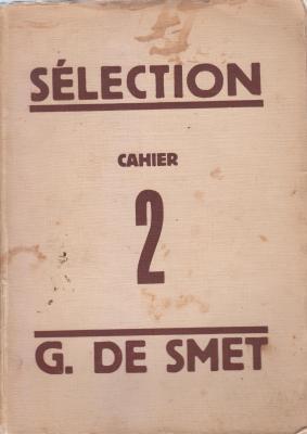 sElection-chronique-de-la-vie-artistique-cahier-2-g-de-smet-
