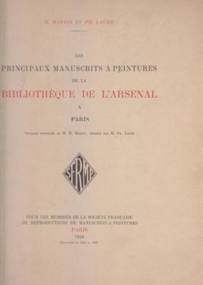 les-principaux-manuscrits-À-peintures-de-la-bibliothEque-de-l-arsenal-À-paris