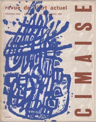 cimaise-revue-de-l-art-actuel-cinquiEme-sErie-numEro-1-septembre-octobre-1957-