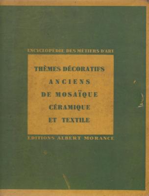 thEmes-dEcoratifs-anciens-de-mosaIque-cEramique-et-textile-