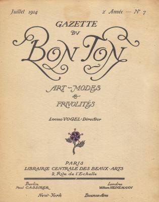 gazette-du-bon-ton-art-modes-et-frivolitEs